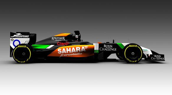 Force India VJM07 2014