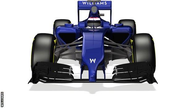 Williams FW36 pics released