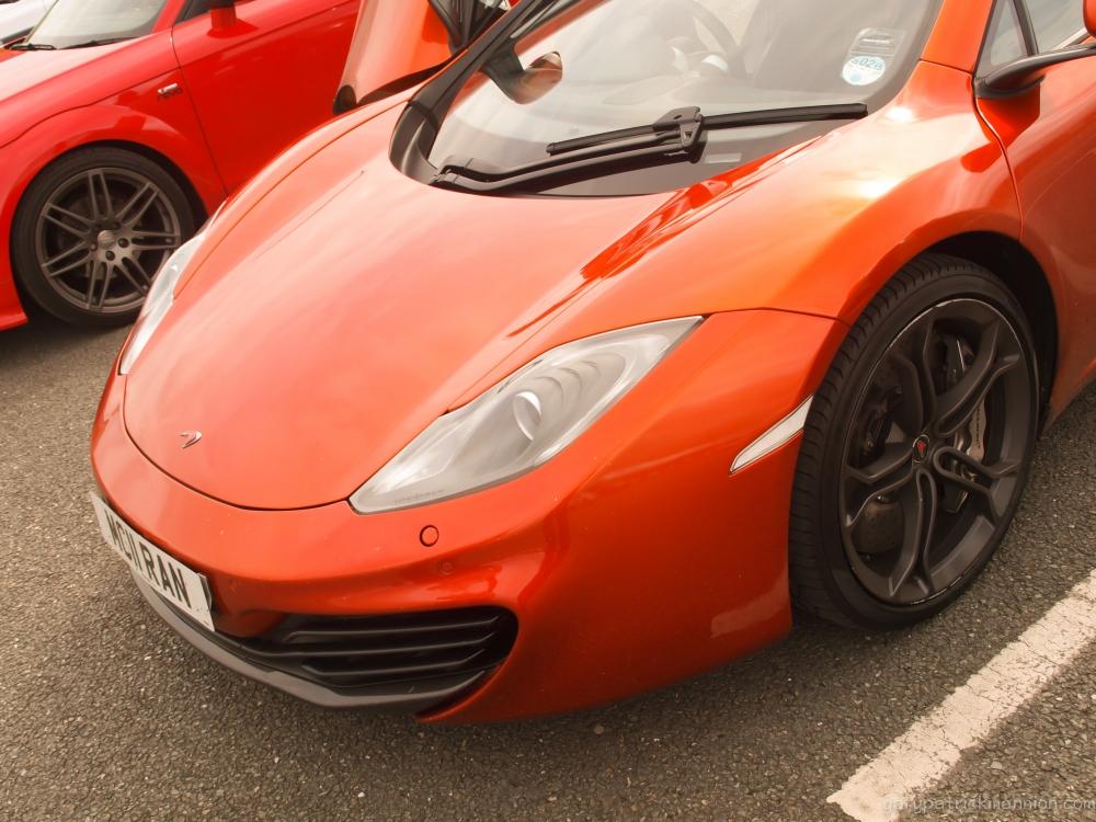 Random snap: McLaren MP4-12C